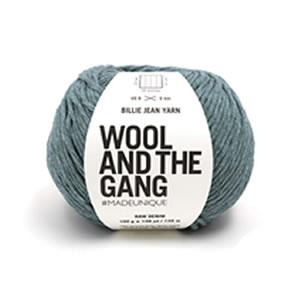 デニムの製造工程でできる廃棄物をアップサイクルしたエコ毛糸