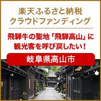 岐阜県高山市のプロジェクト