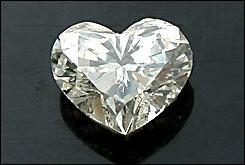 ハートシェイプ ルースダイヤモンド