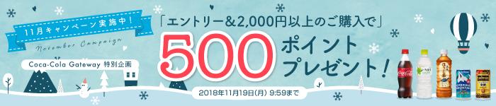 エントリー&2,000円以上のご購入で500ポイントプレゼント