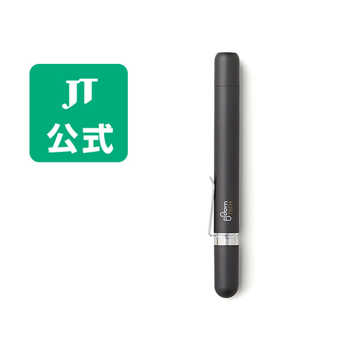 【JT公式】プルームテック(Ploom TECH)・デバイスケースツイスト<ブラック> / 加熱式タバコ