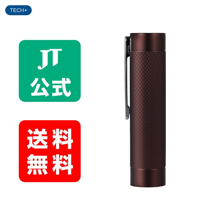【JT公式】プルームテックプラス(Ploom TECH+)・メタルキャップ<ディープレッド> / 加熱式タバコ
