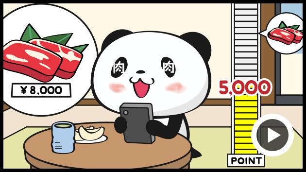 パンダ 動画 楽天
